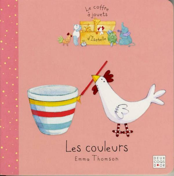 Le coffre  jouets d'Isabelle, Les couleurs