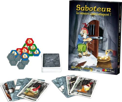Saboteur.mineurs contre-attaquent