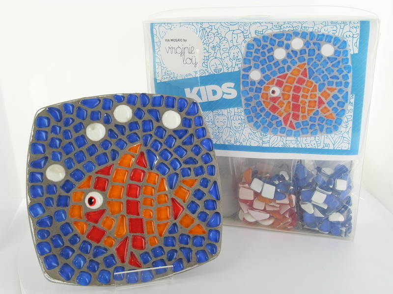 Poisson assiette for kids