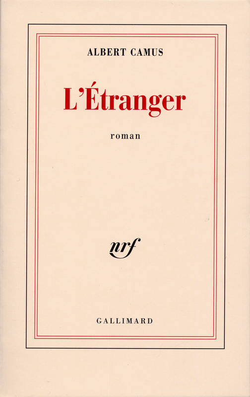 the character of meursault in the novel the stranger by albert camus Albert camus was able to create such a character in his book the stranger so that the reader can understand—and possibly identify with—the said character the.