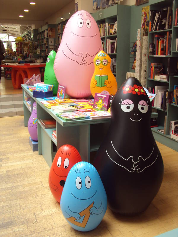 La famille Barbapapa a dbarqu  La Rose des Vents !