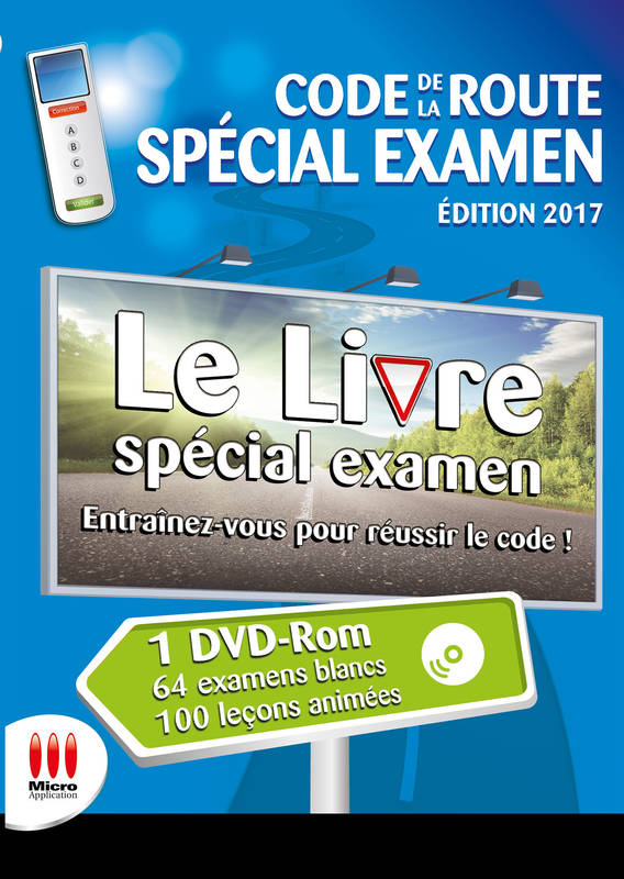 livre code de la route special examen ed 2017 avanquest micro appl ma editions esk hors. Black Bedroom Furniture Sets. Home Design Ideas