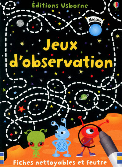 Jeux D'Observation - Fiches Nettoyables