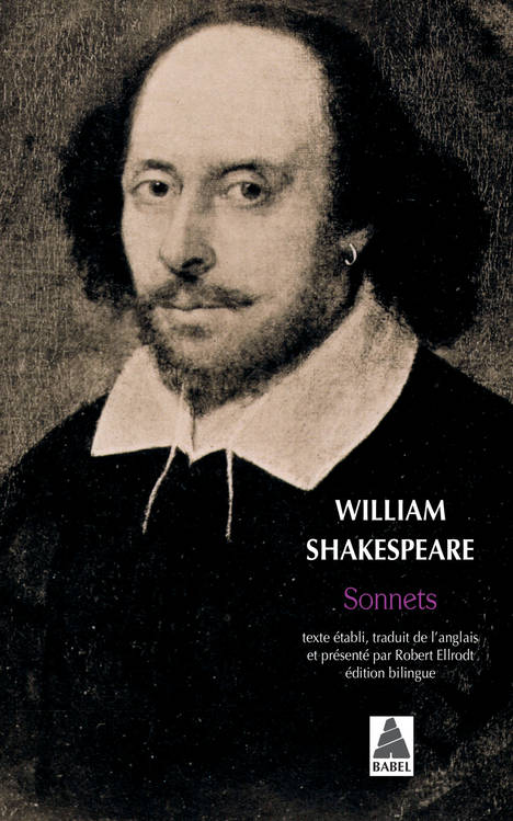 livre sonnets william shakespeare actes sud babel