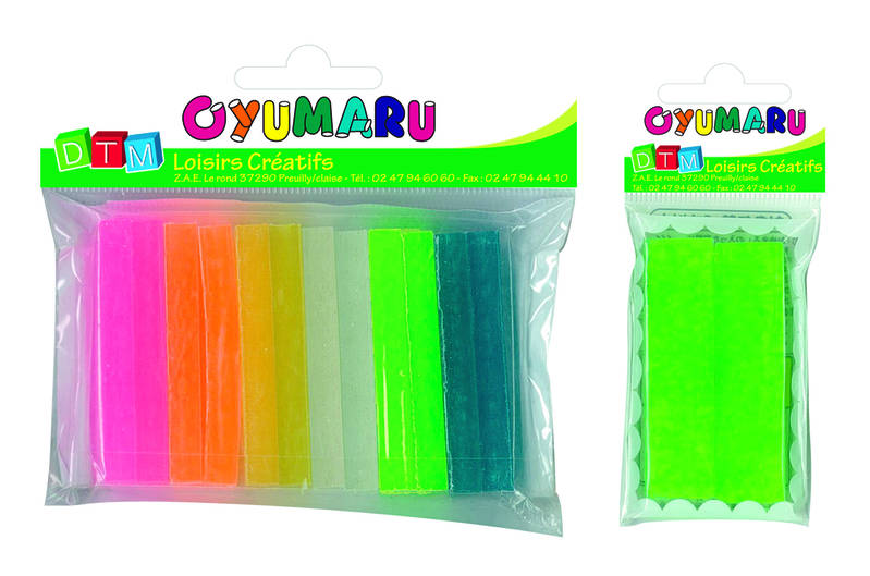 Set de 12 pains oyumaru assortis