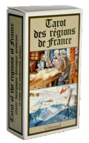 Tarot Des Regions De France. Etui Carton