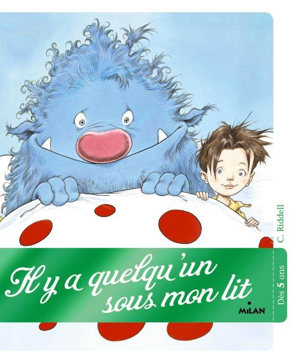 Il y a quelqu'un sous mon lit !