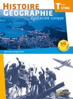 Histoire Gographie Terminale STMG - Livre lve grand format - Ed. 2013