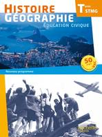 Histoire Gographie Terminale STMG - Livre lve format compact - Ed. 2013