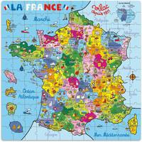 Puzzle Carte de France en valise