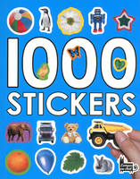 1000 stickers (fond bleu)