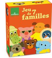 Jeu de 7 familles Mlusine Allirol
