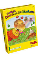 Petites chenilles multicolores