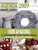 Agenda Marie Claire Idees 2009
