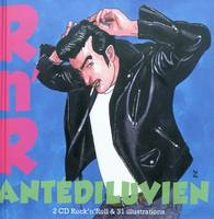 Rock'N'Roll Antediluvien Livre Cd