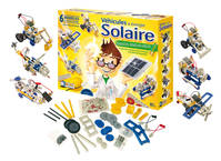 Vehicule  nergie solaire 6 modles