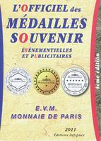 Officiel Medailles Souvenir
