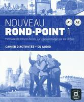 NOUVEAU ROND-POINT A1-A2 CAHIER D EXERCI, Ex+CD