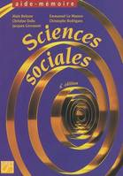 Sciences sociales