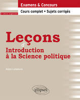 Leçons d'introduction à la science politique