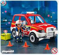 Voiture pompiers