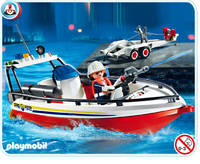 Bateau pompiers