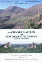 Anciennes familles des montagnes d'Auvergne, Sancy-Artense