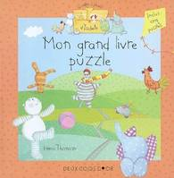 Le coffre  jouets d'Isabelle, Mon grand livre puzzle