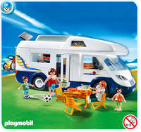 Grand camping car familial