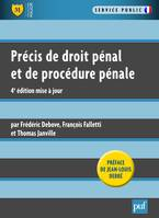 Precis De Droit Penal Et De Procedure Penale (4Ed)