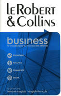 Le Robert & Collins business, dictionnaire français-anglais, anglais-français, French-English, English-French dictionary
