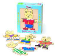Puzzle 'lapin Tom'