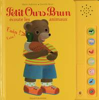 Petit Ours brun coute les animaux